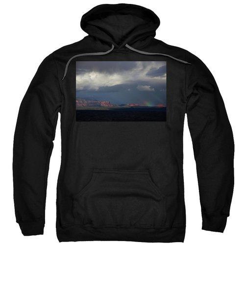 Fat Ground Rainbow, Red Rocks Sedona Sweatshirt