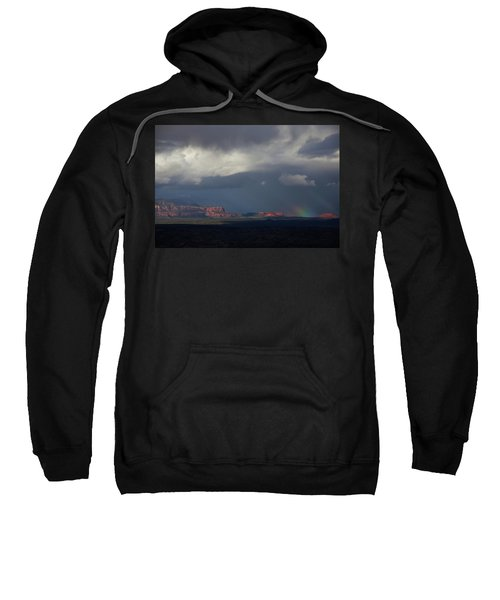Fat Ground Rainbow, Red Rocks Sedona Sweatshirt