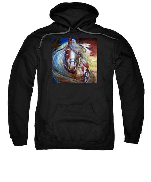 Fearless Indian War Horse Sweatshirt