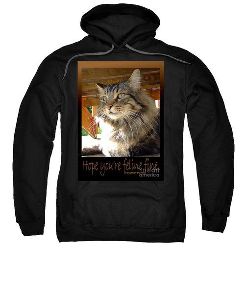 Feline Fine Sweatshirt