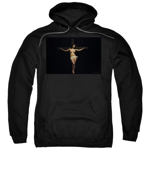 Female Jesus Sweatshirt