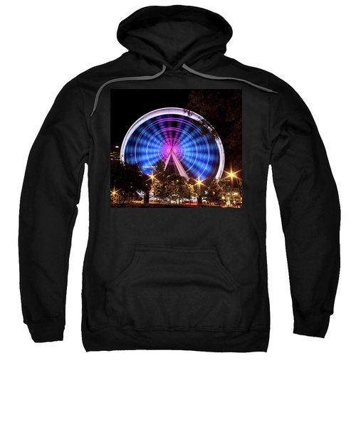 Ferris Wheel At Centennial Park 2 Sweatshirt