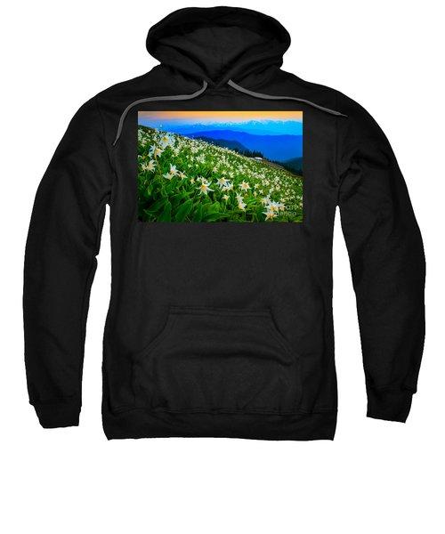 Field Of Avalanche Lilies Sweatshirt