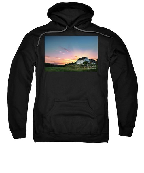 Fiery Embrace Sweatshirt