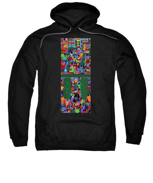We The People Diptych Sweatshirt