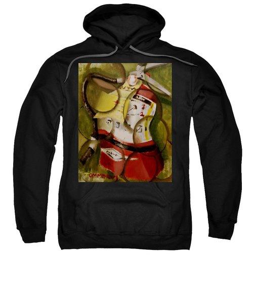 Tommervik Abstract Fire Extinguisher Art Print Sweatshirt