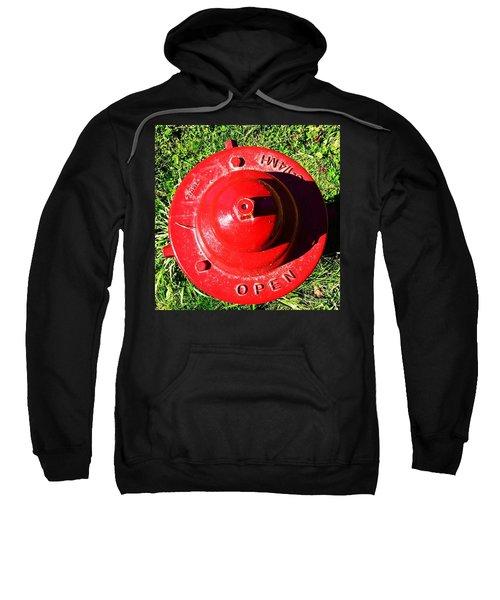 Fire Hydrant #8 Sweatshirt