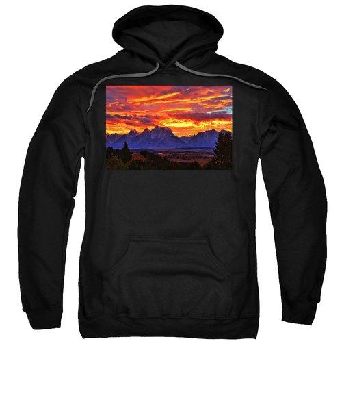 Fire In The Teton Sky Sweatshirt