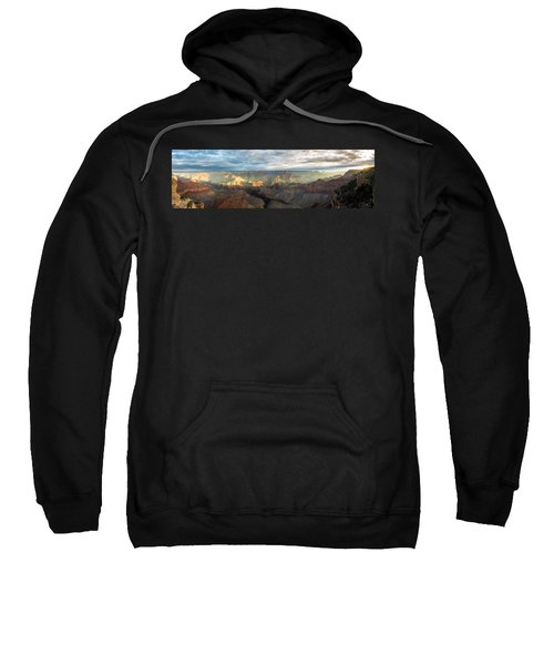 First Light In The Canyon Sweatshirt