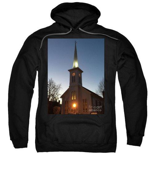 First Presbyterian Churc Babylon N.y After Sunset Sweatshirt