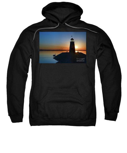Fishing At The Lighthouse Sweatshirt