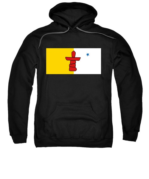 Flag Of Nunavut High Quality Authentic Hd Version Sweatshirt