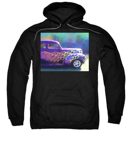 Flamed 1940 Ford Sweatshirt