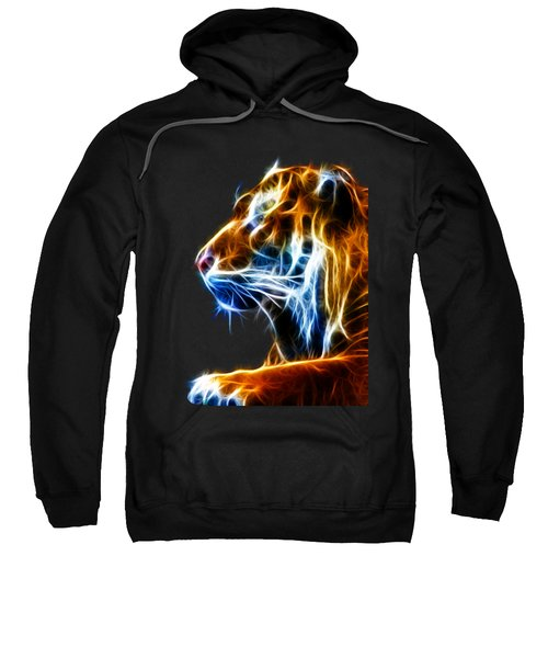 Flaming Tiger Sweatshirt