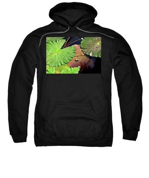 Floating Lily Pads Sweatshirt