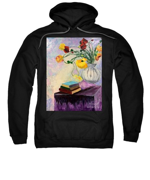 Floral Abstract Sweatshirt