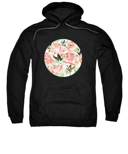 Floral Cranes Sweatshirt