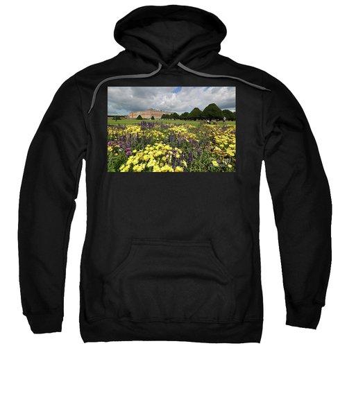 Flower Bed Hampton Court Palace Sweatshirt