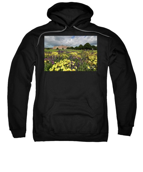 Flower Bed Hampton Court Palace Sweatshirt