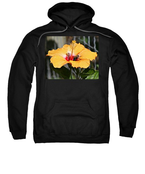 Flower Bee Sweatshirt