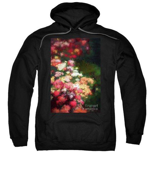 Flower Border Sweatshirt