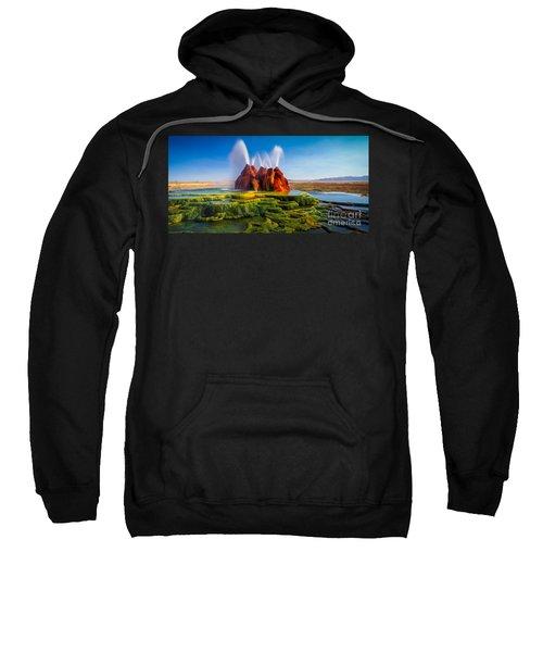 Fly Geyser Panorama Sweatshirt