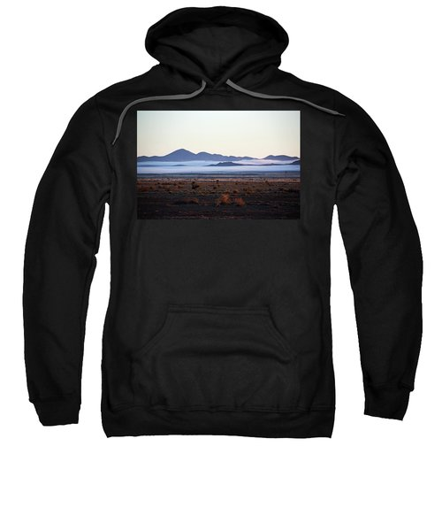 Fog In The Peloncillo Mountains Sweatshirt