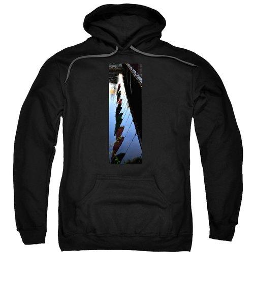 Foot Bridge Reflections 487 Sweatshirt