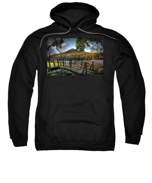 Foot Bridge Sweatshirt by Todd Hostetter