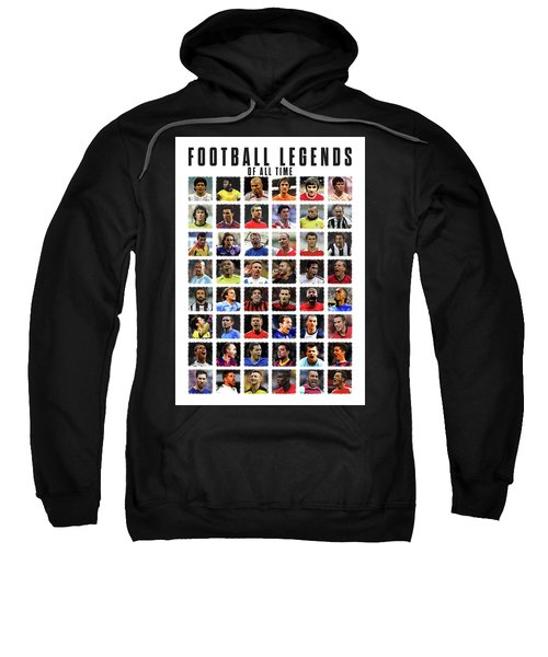 Football Legends Sweatshirt by Semih Yurdabak