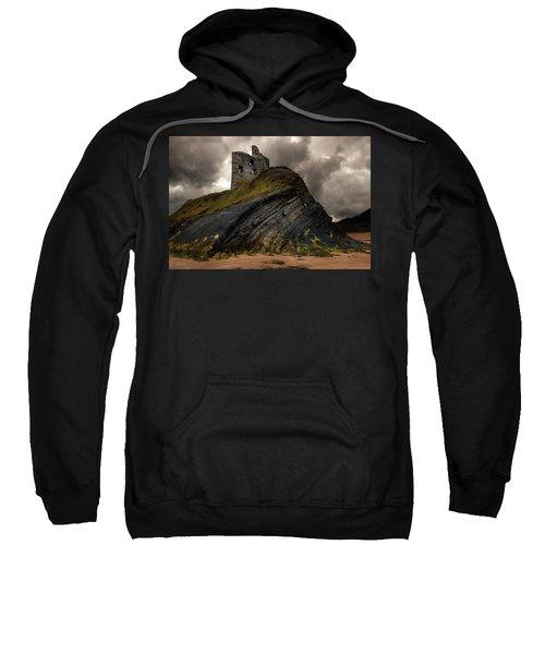 Forgotten Castle In Ballybunion Sweatshirt