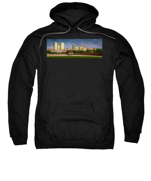Fortworth Texas Cityscape Sweatshirt