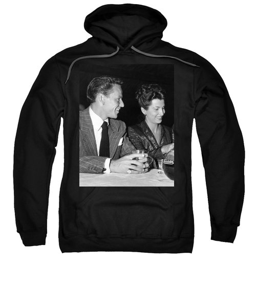 Frank Sinatra And Nancy Sweatshirt by Underwood Archives
