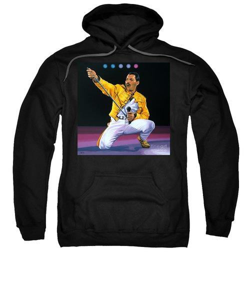 Freddie Mercury Live Sweatshirt