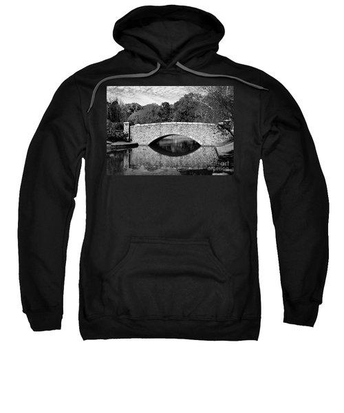 Freedom Park Bridge In Black And White Sweatshirt