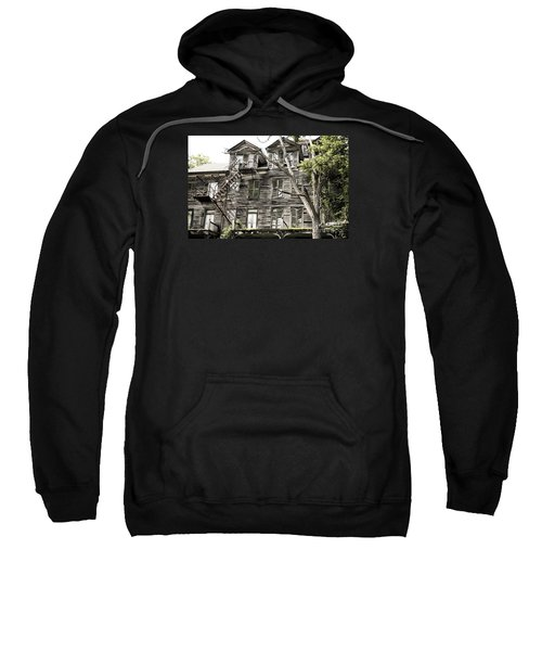 French Doors And Fire Escapes Sweatshirt