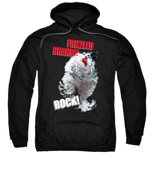 Frizzled Brahma T-shirt Print Sweatshirt