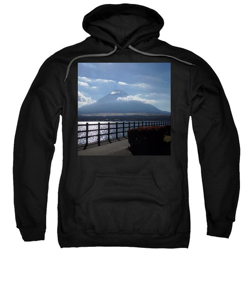 Fuji From Lake Yamanaka Sweatshirt