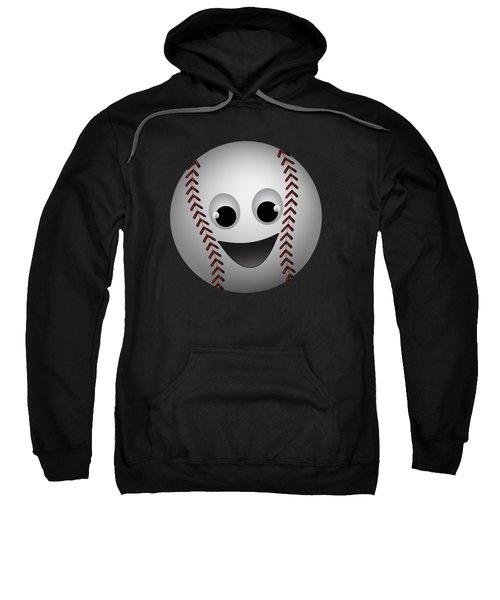 Fun Baseball Character Sweatshirt