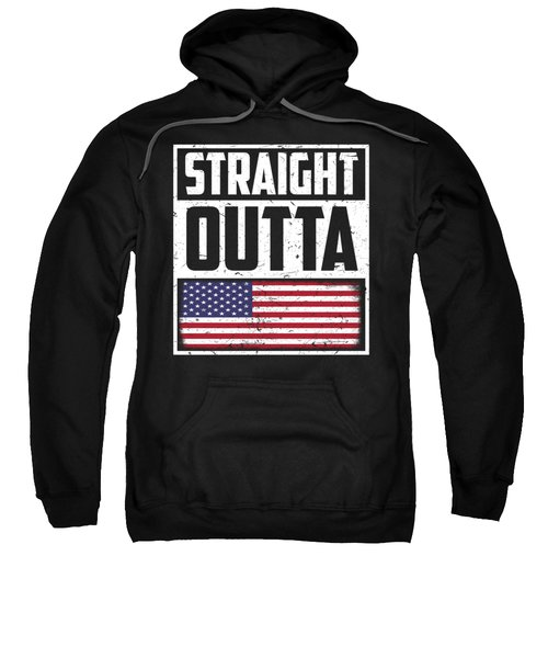Funny American Flag Fourth July Gift 4th July Independence Day Sweatshirt