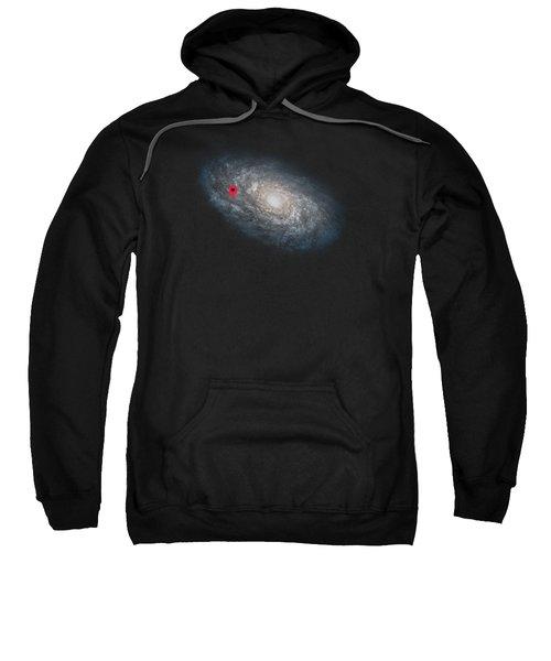 Funny Astronomy Universe  Nerd Geek Humor Sweatshirt by Philipp Rietz