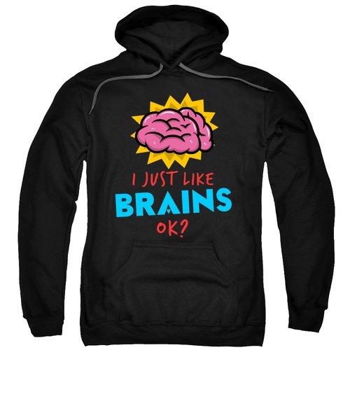 Funny Psychiatrist Brain Apparel Doctor Gift Sweatshirt