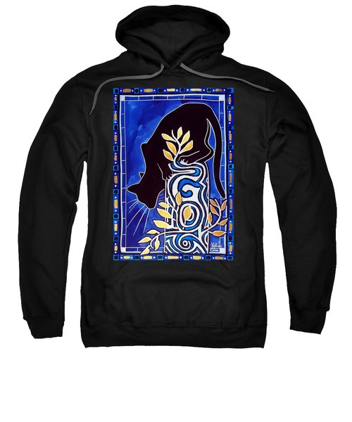 G Is For Gato - Cat Art With Letter G By Dora Hathazi Mendes Sweatshirt by Dora Hathazi Mendes