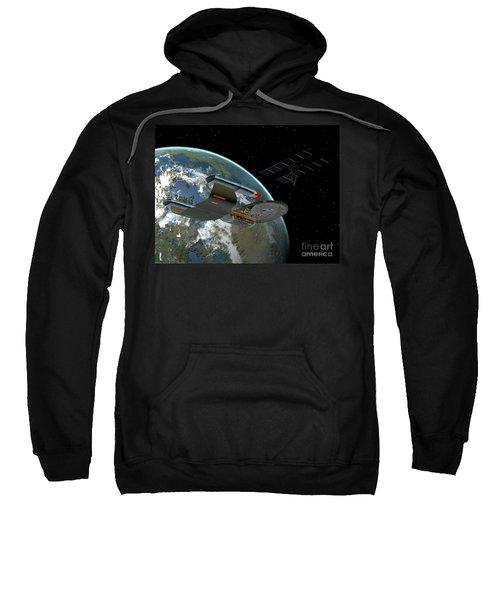 Galaxy Class Star Cruiser Sweatshirt