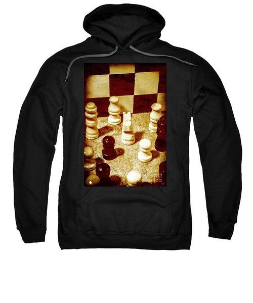Game Of Chess And Tactics Sweatshirt