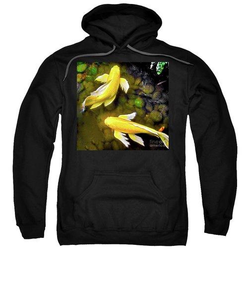 Garden Goldenfish Sweatshirt