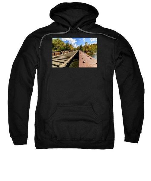 Gauley River Railroad Trestle Sweatshirt