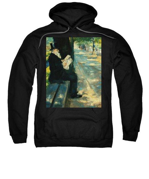 Gentleman In The Park Sweatshirt