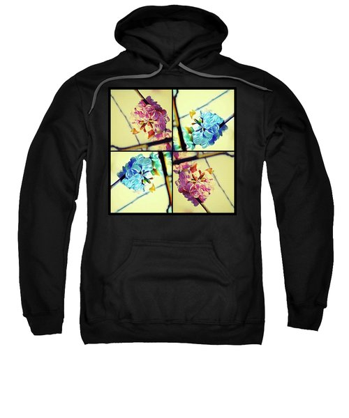 Geometric Blossoms Sweatshirt