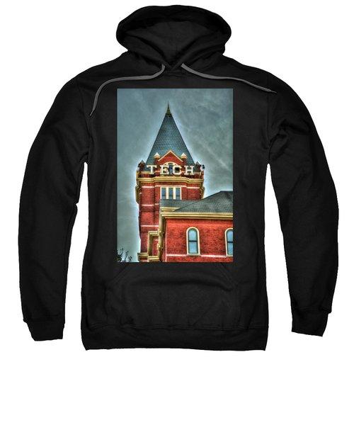 Georgia Tech Tower 8 Georgia Institute Of Technology Art Sweatshirt
